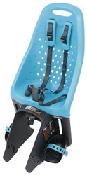 Thule Yepp Maxi Easyfit Child Bike Seat - Rear - Luggage Rack Mount - Ocean