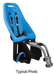 Thule Yepp Maxi Child Bike Seat - Rear - Seat Post Mount - Ocean