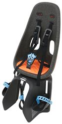 Thule Yepp Nexxt Maxi Child Bike Seat - Rear - Luggage Rack Mount - Orange