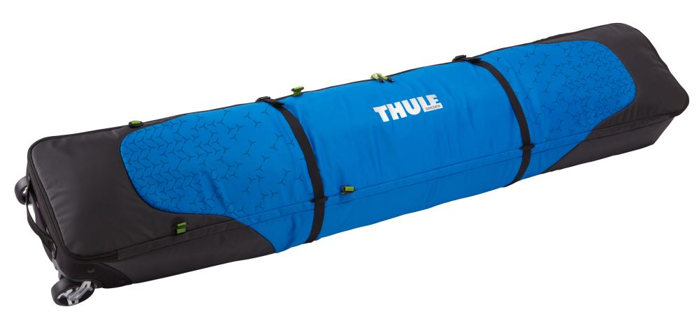 Thule roundtrip double ski carrier bag with rollers for Housse ski roulette