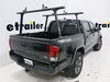 Thule TracRac TracONE Ladder Rack for Toyota Tacoma - Fixed Mount - 800 lbs - Matte Black Over the Bed TH27000XTB-XK4B on 2019 Toyota Tacoma