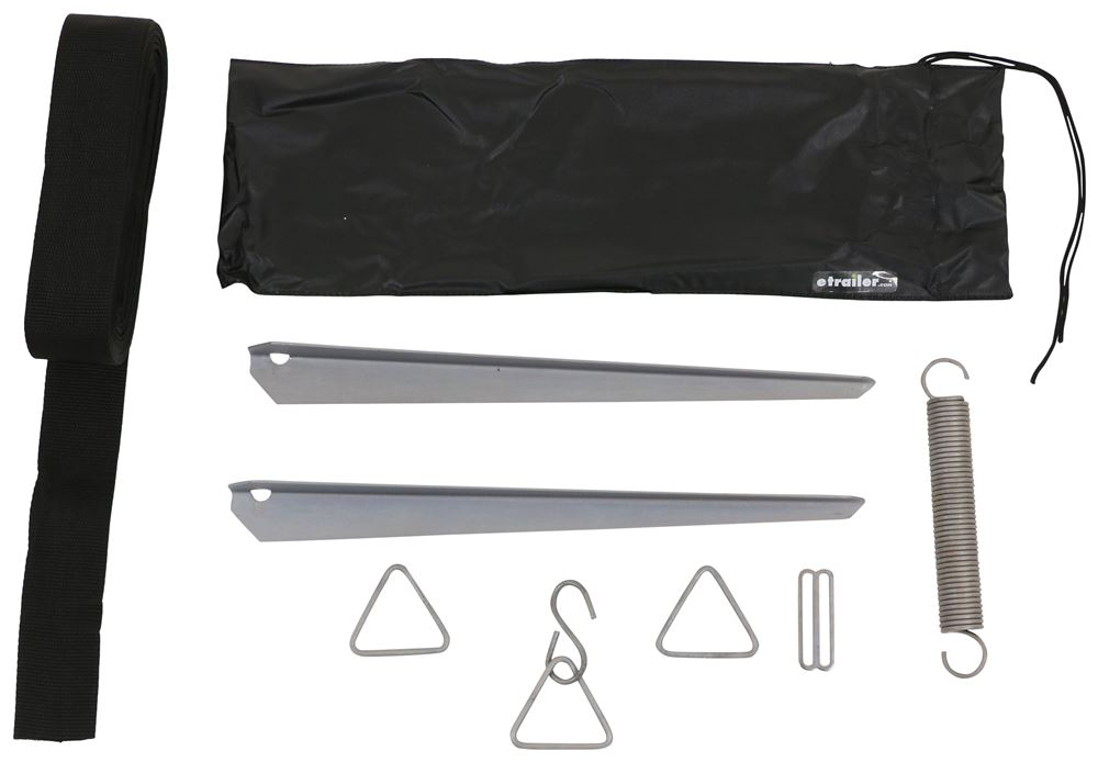 Hold Down Strap Kit for Thule HideAway Awnings - 36' Strap Anchor Straps TH307906