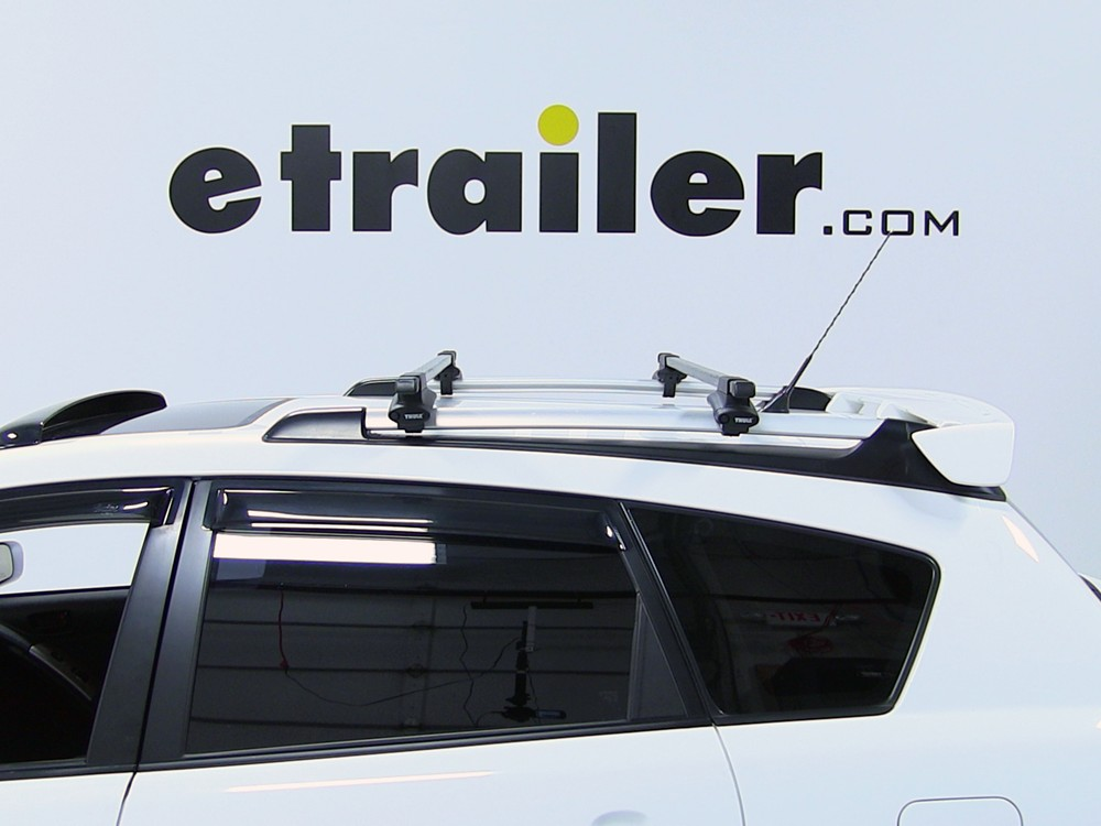 Thule Roof Rack For 2003 Pontiac Vibe Etrailer Com