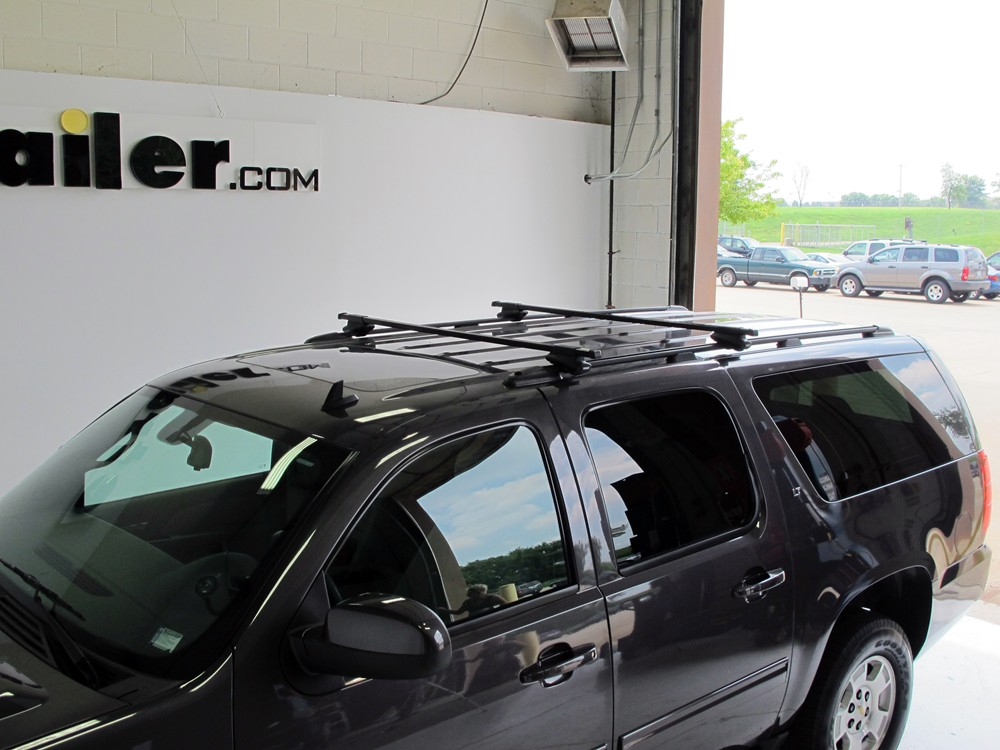 Thule Roof Rack For 2002 Suburban By Chevrolet Etrailer Com