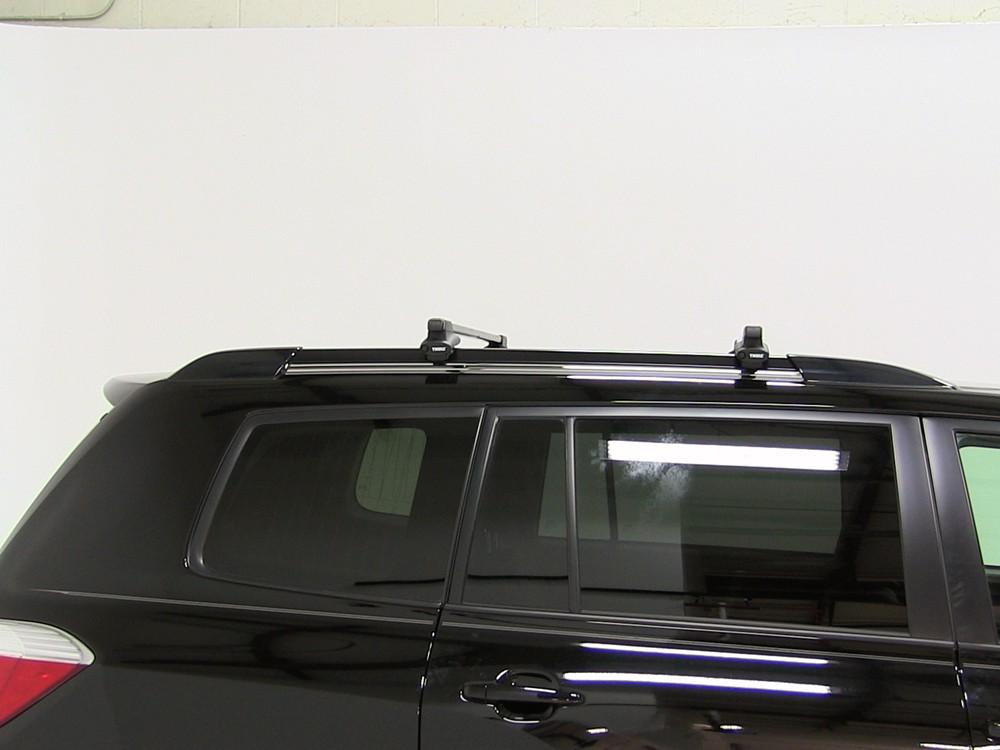 Thule Roof Rack For 2010 Toyota Highlander Etrailer Com