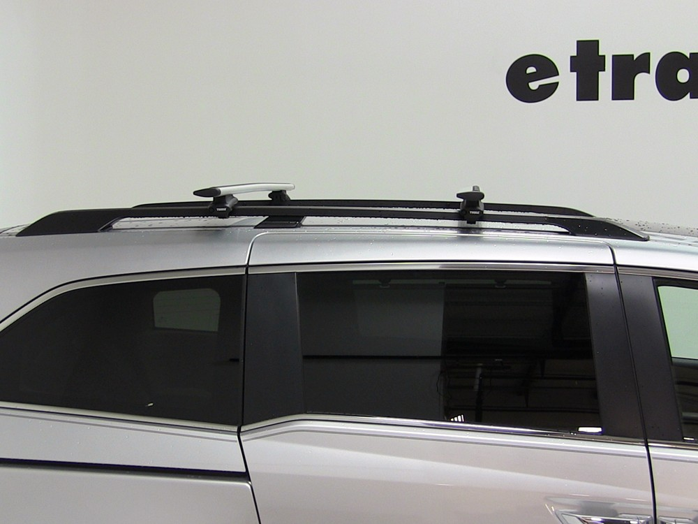 thule roof rack for 2015 odyssey by honda. Black Bedroom Furniture Sets. Home Design Ideas