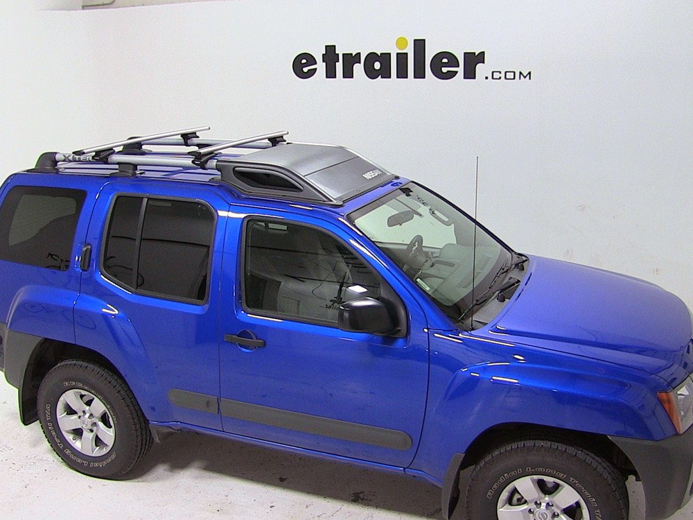 how to use roof rack on nissan xtrail