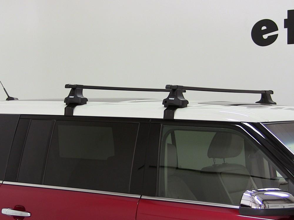 Thule Roof Rack For 2009 Ford Flex Etrailer Com