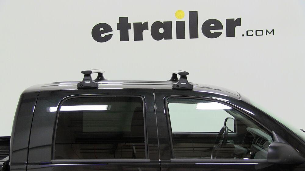 Thule Roof Rack For 2006 Dodge Dakota Etrailer Com