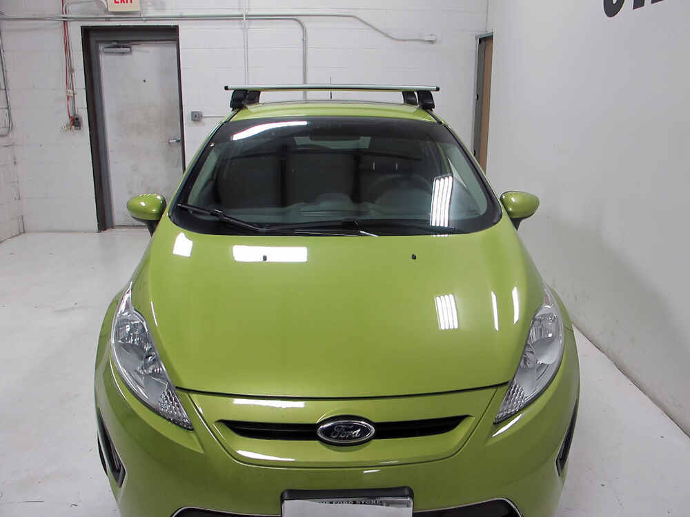 Thule Roof Rack For 2012 Fiesta By Ford Etrailer Com
