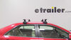 Thule 4 Pack Roof Rack - TH480R on 2012 Toyota Camry