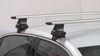 Thule 4 Pack Roof Rack - TH480R on 2014 Chevrolet Malibu