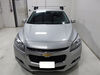 Rapid Traverse Feet for Thule Crossbars - Naked Roof - Qty 4 4 Pack TH480R on 2014 Chevrolet Malibu