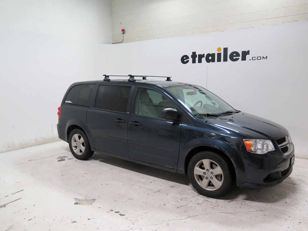 Thule Roof Rack For Dodge Grand Caravan 2014 Etrailer Com