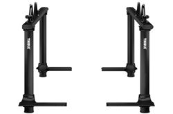 Thule Xsporter Pro Adjustable Height Truck Bed Ladder Rack - Aluminum - 450 lbs - Black