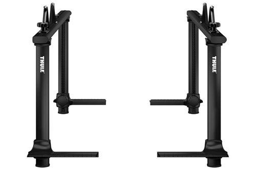 toyota tacoma thule xsporter pro adjustable height truck bed ladder rack aluminum