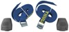 thule cinch straps 6 - 10 feet long load strap w/ padded cam buckles 9' 750 lbs qty 2