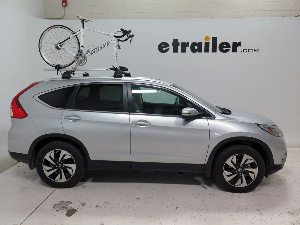 2015 Honda Cr V Thule Thruride Roof Bike Rack Thru Axle Mount Clamp On Or Channel Mounted