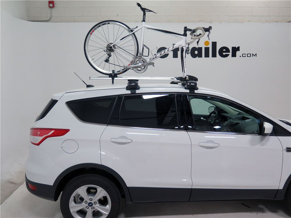 2017 Ford Escape Thule Thruride Roof Bike Rack Thru Axle