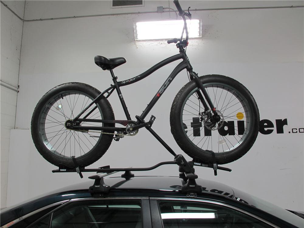 racks-car-fat-bikes-thule-rack-mod | Stuff | Pinterest ...  |Fat Bike Roof Rack Thule