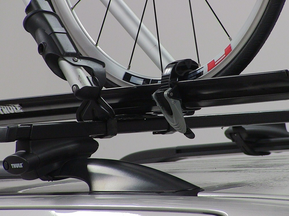 Thule Big Mouth Roof Mounted Bike Rack Frame Clamp Thule
