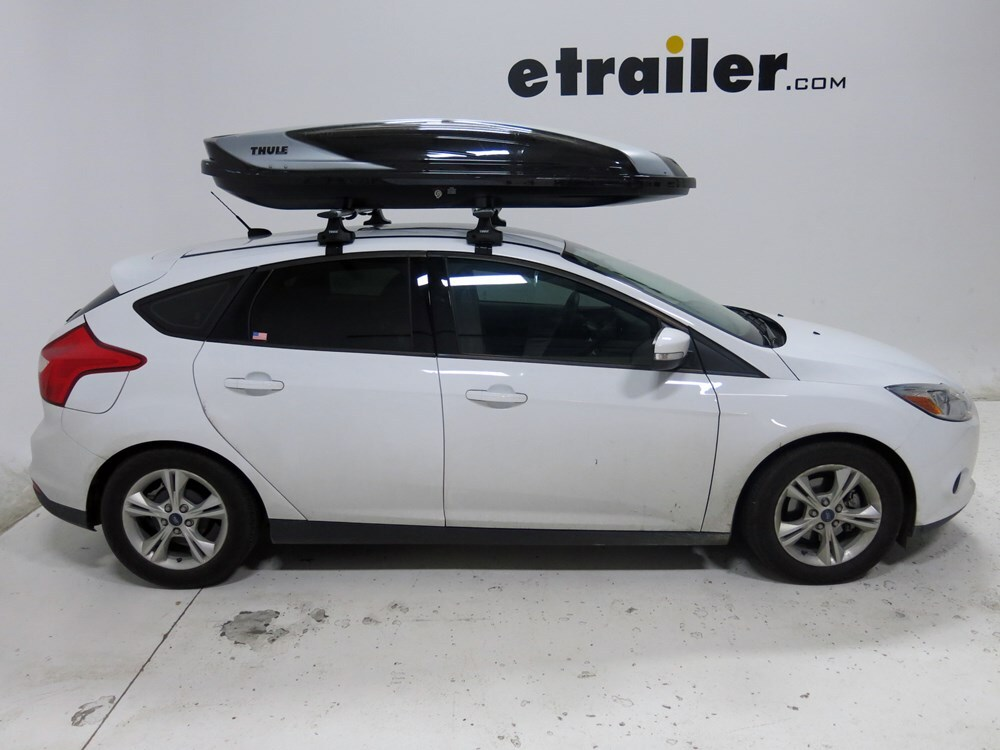 2008 Ford Focus Thule Hyper Xl Rooftop Cargo Box 17 Cu