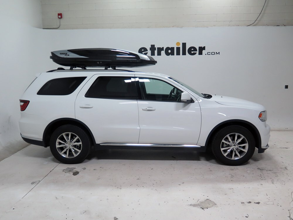 2015 dodge durango thule hyper xl rooftop cargo box 17. Black Bedroom Furniture Sets. Home Design Ideas