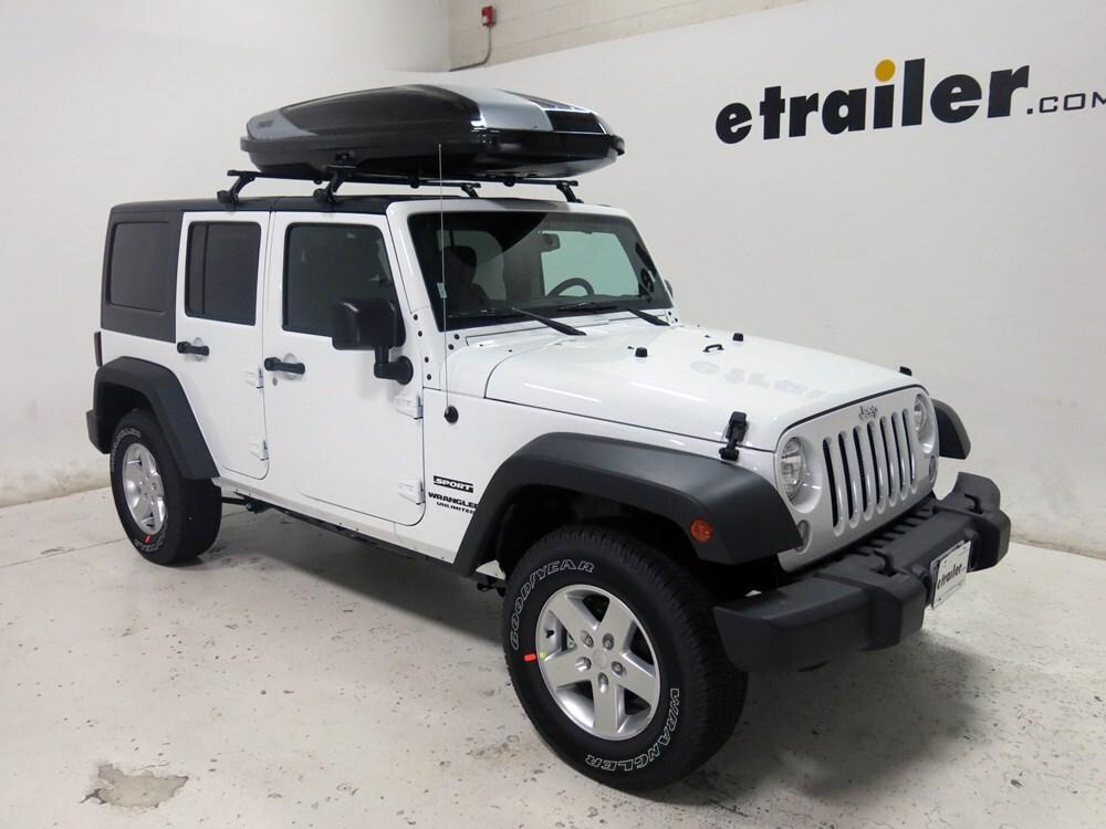 2008 jeep wrangler unlimited thule hyper xl rooftop cargo. Black Bedroom Furniture Sets. Home Design Ideas