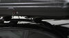 Thule Pulse Alpine Rooftop Cargo Box - 11 Cu Ft - Matte Black Low Profile TH613 on 2013 Subaru XV Crosstrek