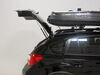 Thule Pulse Alpine Rooftop Cargo Box - 11 Cu Ft - Matte Black Long Length TH613 on 2013 Subaru XV Crosstrek