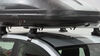 Roof Box TH614 - Passenger Side Access - Thule on 2013 Nissan Rogue