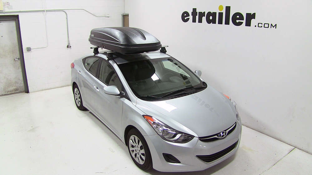 2005 hyundai elantra thule pulse large rooftop cargo box. Black Bedroom Furniture Sets. Home Design Ideas