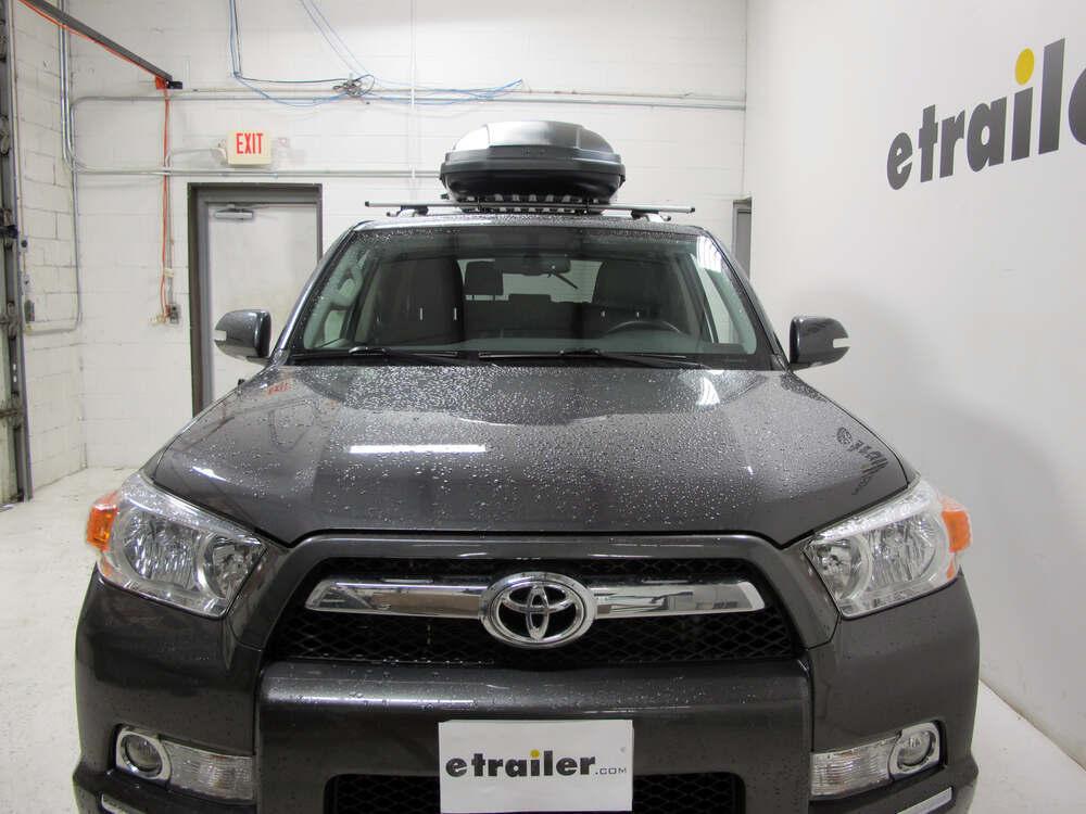 2016 Toyota 4runner Thule Force Medium Rooftop Cargo Box