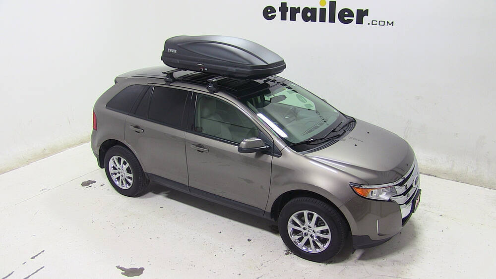 2007 ford edge thule force medium rooftop cargo box 13. Black Bedroom Furniture Sets. Home Design Ideas