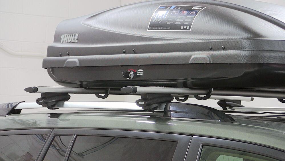 2016 toyota highlander thule force medium rooftop cargo. Black Bedroom Furniture Sets. Home Design Ideas