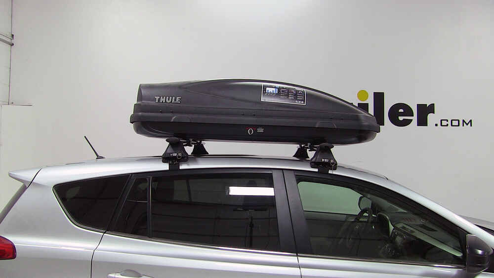 2016 Toyota Venza >> 2016 Toyota RAV4 Thule Force Medium Rooftop Cargo Box - 13 ...