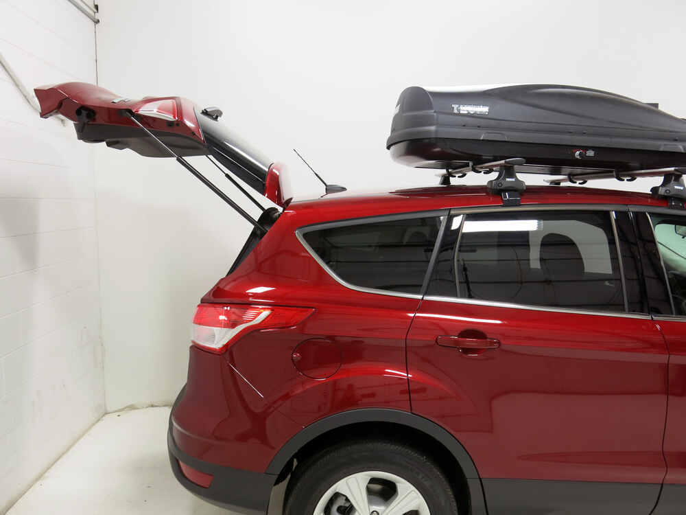 ford escape thule force medium rooftop cargo box 13 cu. Black Bedroom Furniture Sets. Home Design Ideas