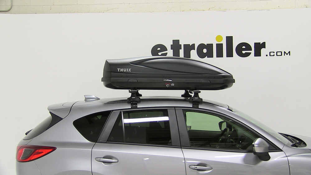 2016 Mazda Cx 5 Thule Force Medium Rooftop Cargo Box 13