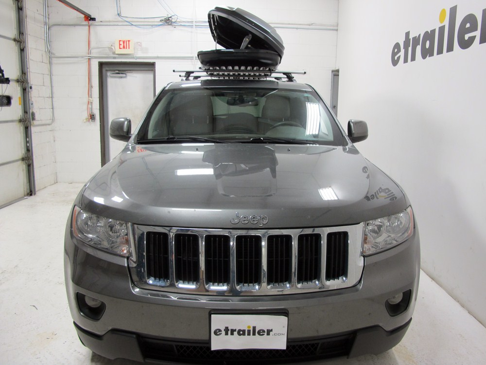 2012 jeep grand cherokee thule force xl rooftop cargo box. Black Bedroom Furniture Sets. Home Design Ideas