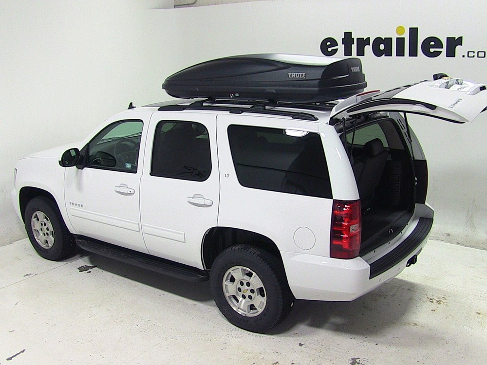 Dodge Durango Thule Force Xl Rooftop Cargo Box 17 Cu Ft