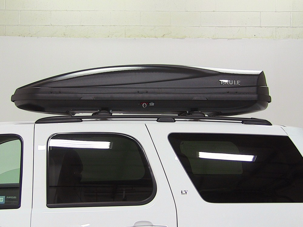 2012 Chevrolet Traverse Thule Force Xl Rooftop Cargo Box