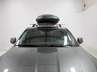 thule roof box high profile dual side access force xl rooftop cargo - 17 cu ft aeroskin black