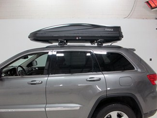 Thule Force XL Rooftop Cargo Box aerodynamic design