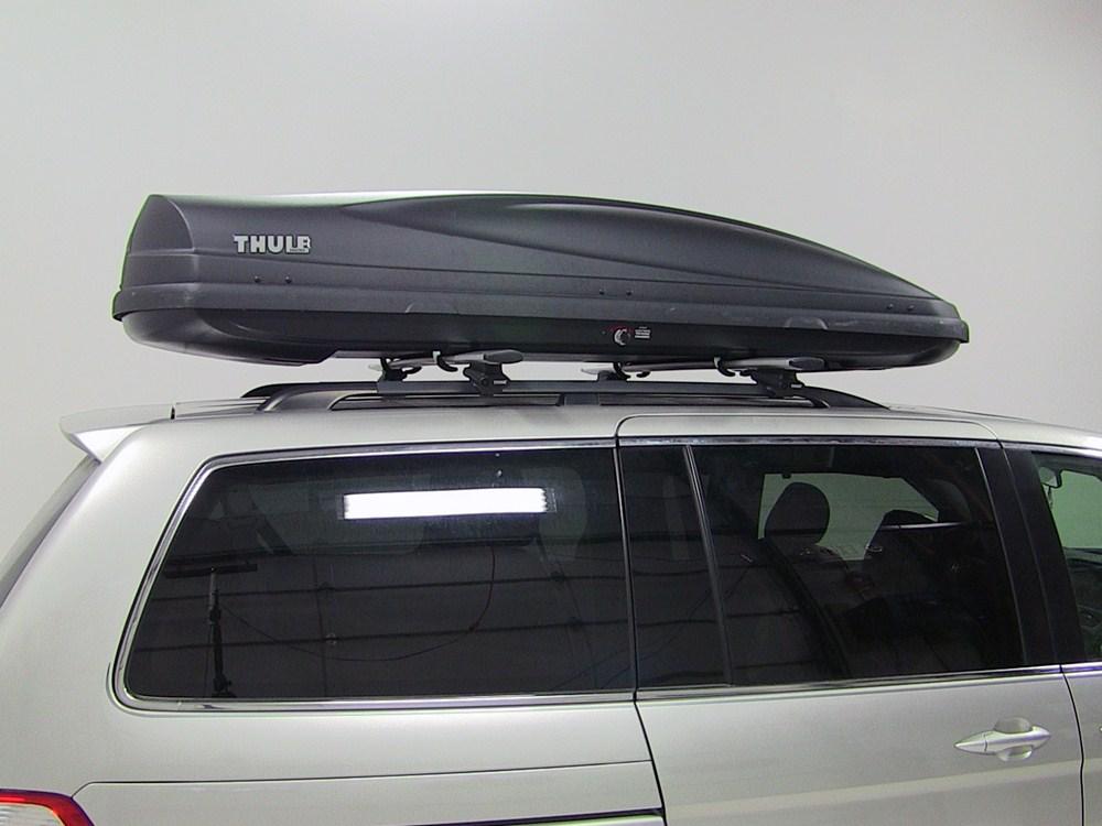 2010 Honda Odyssey Thule Force Xxl Rooftop Cargo Box 21