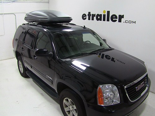 2001 Gmc Yukon Thule Force Xxl Rooftop Cargo Box 21 Cu