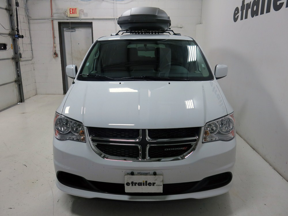 2015 dodge grand caravan thule force xxl rooftop cargo box 21 cu ft aeroskin black. Black Bedroom Furniture Sets. Home Design Ideas