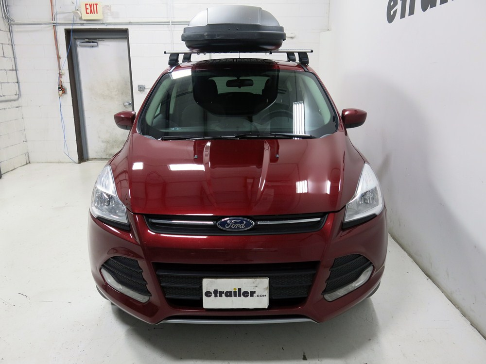 2016 ford escape thule force xxl rooftop cargo box 21 cu. Black Bedroom Furniture Sets. Home Design Ideas