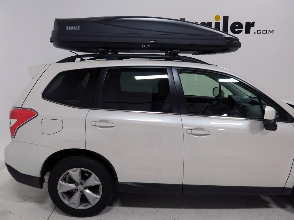 Subaru Forester Thule Force Xxl Rooftop Cargo Box 21 Cu