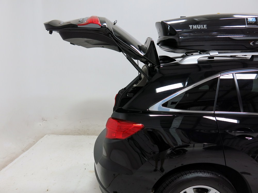 2015 acura rdx thule sonic medium rooftop cargo box 13. Black Bedroom Furniture Sets. Home Design Ideas