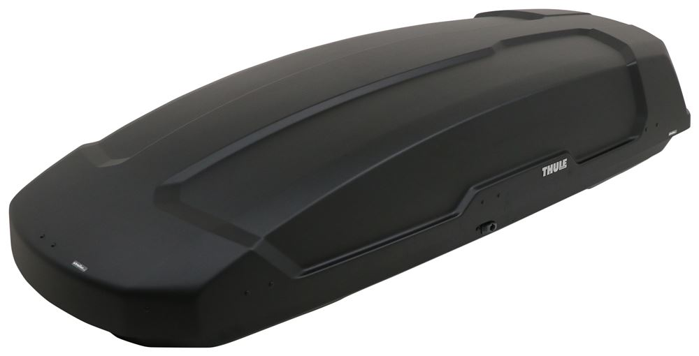 Thule Force XT Rooftop Cargo Box - 22 cu ft - Black AeroSkin Extra Large Capacity TH6359B